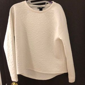 Long White sweater from H&M